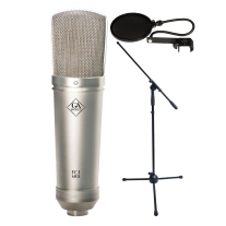 Golden Age Project FC1 Mk2 Condenser Microphone Bundle