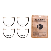 "F-CABLES By F-PEDALS FCABLES-12-X4 F-Cables 12"" Pack of 4"