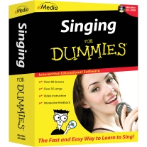 eMedia Singing for Dummies - Macintosh