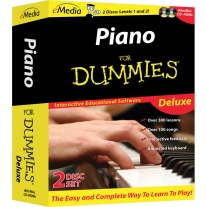 eMedia Piano for Dummies Deluxe - Macintosh