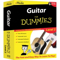 eMedia Guitar for Dummies 2 - Macintosh