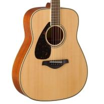 Yamaha FG820LNT Left-Handed Solid Sitka Spruce Acoustic Guitar