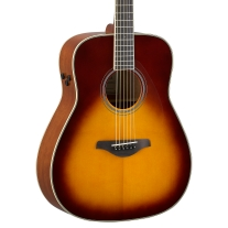 Yamaha FG Series TransAcoustic Folk Body Acoustic Electric Guitar in Sunburst