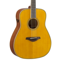 Yamaha FG Series TransAcoustic Folk Body Acoustic Electric Guitar - Vintage Tint