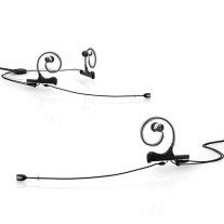 DPA D:fine™ Slim Capsule, Headset Mic., Single Ear, 120mm Boom Interchangeable