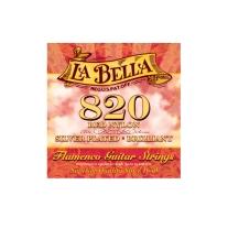 La Bella 820 Flamenco Guitar Strings Red Nylon