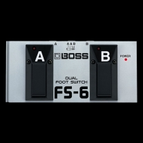Boss FS6 Dual Footswitch