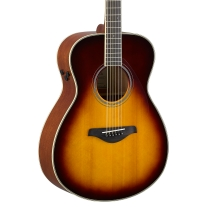 Yamaha FG FSTABS TransAcoustic Acoustic Electric Guitar In Brown Sunburst