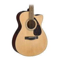 Yamaha F Series FSX315C Concert Cutaway Acoustic-Electric Guitar Natural