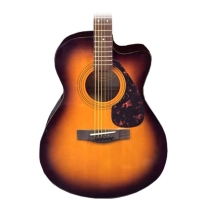 Yamaha F Series FSX315C Concert Cutaway Acoustic-Electric Guitar Sunburst