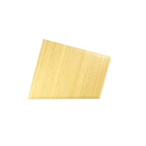 Sterling Modular Natural Bamboo Side Trim Panels for Face-Up Racks