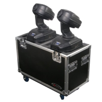 Odyssey Flight Zone Small Dual 250 Style Moving Head ATA Case with Wheels