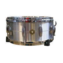 "Gretsch G4164SA USA 6.5x14"" Solid Aluminum Snare Drum"
