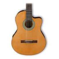 Ibanez GA3ECE Cutaway Acoustic-Electric Nylon String Guitar Natural