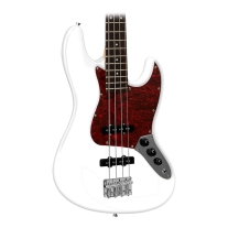 Giannini GB1 Jazz Bass - White