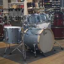 Gretsch USA Brooklyn Series 5-Piece Shell Pack - Satin Ice Blue Metallic