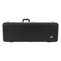 Gator Cases Deluxe Molded Case with Built-In LED Light for Electric Guitars