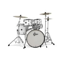 Gretsch Energy 5Pc Kit w/ Zildjian Planet Z Cymbals in White