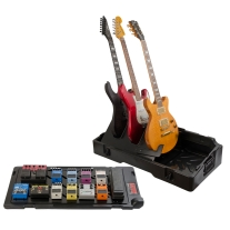 Gator Gig-Box Pedal Board and Guitar Stand