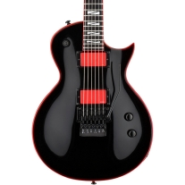 ESP LTD GH600EC Gary Holt Signature Electric Guitar - Rose Black w/ Red Binding