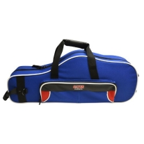 Gator GL-ALTOSAX-RB Lightweight Spirit Series Alto Saxophone Case, Red and Blue