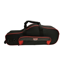Gator GL-ALTOSAX-RK Lightweight Spirit Series Alto Saxophone Case, Red and Black