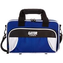 Gator GL-CLARINET-WB Lightweight Spirit Series Clarinet Case, White and Blue