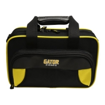 Gator GL-CLARINET-YK Lightweight Spirit Series Clarinet Case, Yellow and Black