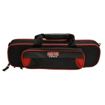 Gator GL-FLUTE-RK Lightweight Spirit Series Flute Case, Red and Black