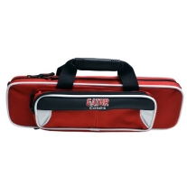 Gator GL-FLUTE-WR Lightweight Spirit Series Flute Case, White and Red