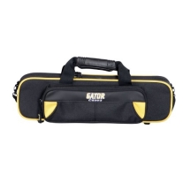 Gator GL-FLUTE-YK Lightweight Spirit Series Flute Case, Yellow and Black