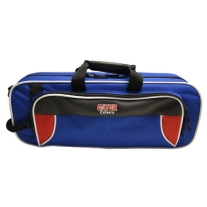 Gator GL-TRUMPET-RB Lightweight Spirit Series Trumpet Case, Red and Blue