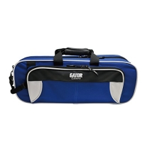 Gator GL-TRUMPET-WB Lightweight Spirit Series Trumpet Case, White and Blue