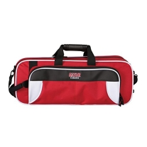Gator GL-TRUMPET-WR Lightweight Spirit Series Trumpet Case, White and Red