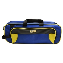 Gator GL-TRUMPET-YB Lightweight Spirit Series Trumpet Case, Yellow and Blue