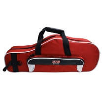 Gator Spirit Series GLALTOSAXWR White and Red Alto Saxophone Case