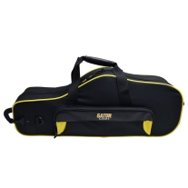 GATOR SPIRIT SERIES GLALTOSAXYK YELLOW AND BLACK ALTO SAXOPHONE CASE