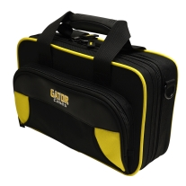 Gator Spirit Series Lightweight Clarinet Case in Black with Yellow Accents
