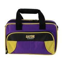 Gator Spirit Series Yellow & Purple Lightweight Clarinet Case