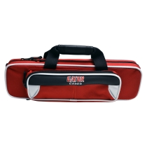 Gator Spirit Series GLFLUTEWR White and Red FLUTE Case