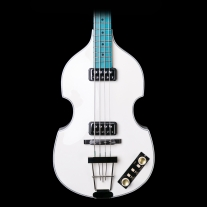 Hofner Gold Label Limited Edition VIolin Bass ECO Ivory w/ Blue Fingerboard