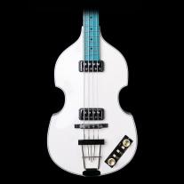 Hofner Gold Label Limited Edition VIolin Bass ECO Ivory w/ Blue Fingerboard
