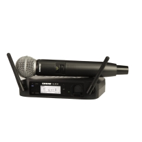Shure GLXD24/SM58 Handheld Wireless System (Z2 Band: 2400 - 2483.5 MHz)