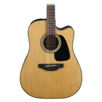 Takamine GC10E-NS Dreadnought Acoustic Electric Guitar in Natural Satin