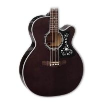 Takamine GN75CE-TBK G Series Acoustic/Electric Guitar - Transparent Black