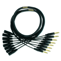 """Mogami Gold 5' 8-Channel 1/4"""""""" TRS Male to XLR Male Analog Snake Cable"""