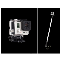 GoPro Hero 3 Plus Black Edition with GoPole Evo Floating Extension Pole