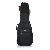 Gator G-PG-ACOUELECT Pro-Go Series Double Guitar Bag Acoustic & Electric Guitar