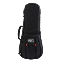 Gator ProGo Micro Fleece Soprano Ukulele Gig Bag W/Removable Backpack Straps