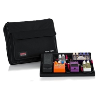 Gator GPTBLACK Plywood Pedal Board with Black Nylon 18x12 Inches Carry Bag and External Pocket